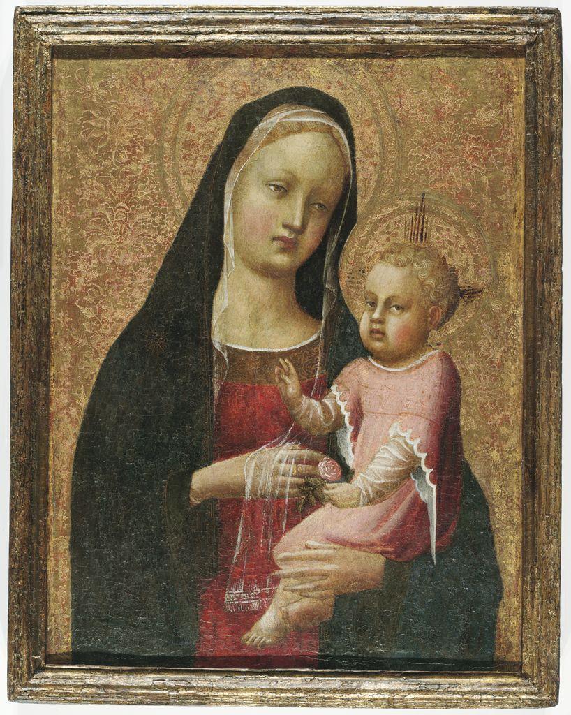 Фра Анджелико Мадонна с младенцем гарвард.jpg