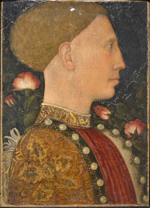 Пизанелло Портрет Леонелло д'Эсте каррара.jpg
