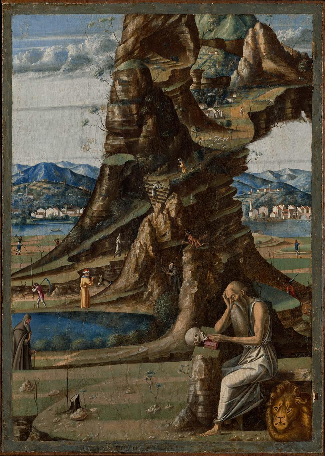 Якопо Jacopo da Valenza Святой Иероним бостон.jpg
