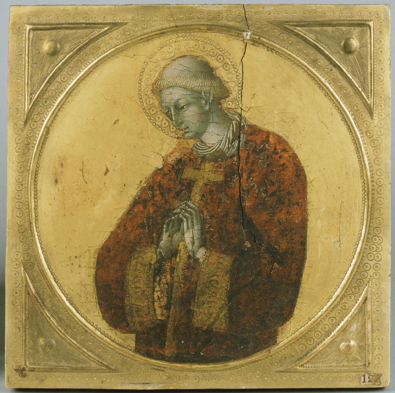 Джованни ди Паоло A Deacon Saint филадельфия.jpg