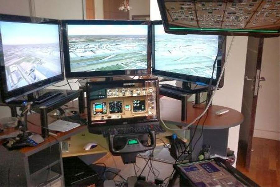 MH370 Pilot's simulator