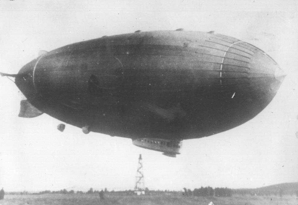 1937 г. Дирижабль СССР-В6 в Свердловске