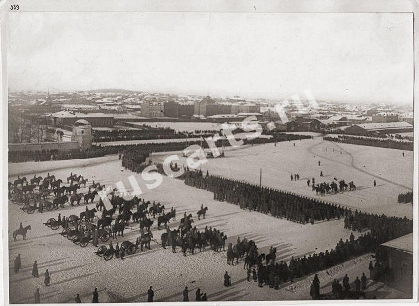 Из окна Епархиального жен. уч-ща.1918