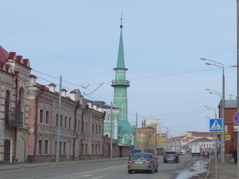 kazan-minaret