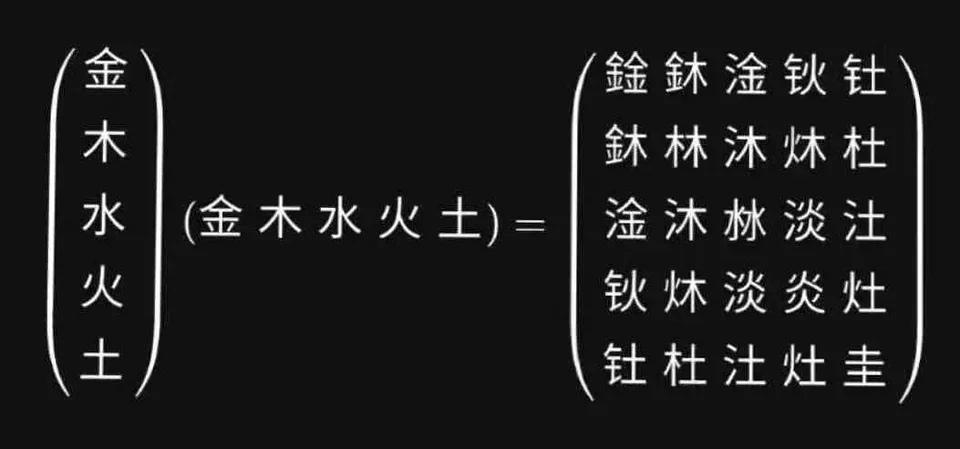 chinese-matrix