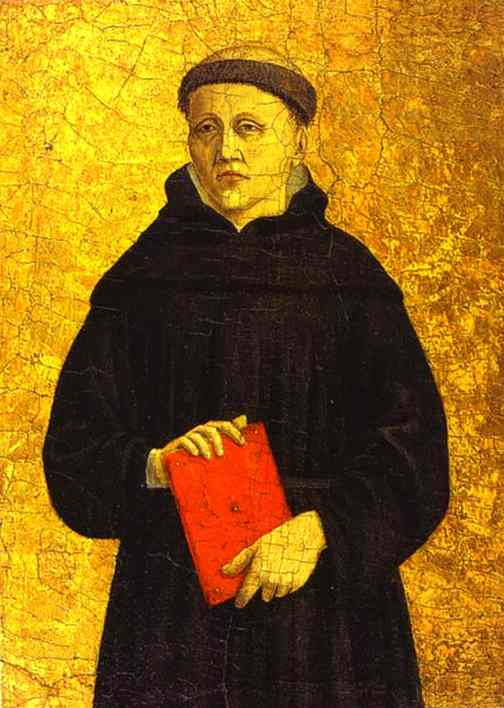 Piero della Francesca - Augustinian Saint