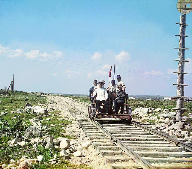 участок строительства железной дороги под Петрозаводском