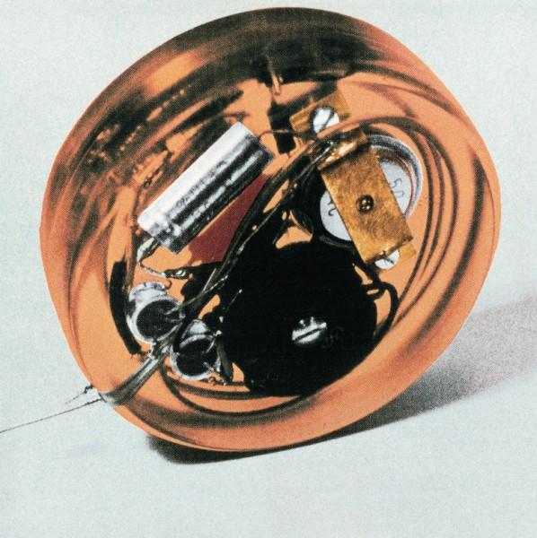 Первый кардиостимулятор, фото 1958 г.