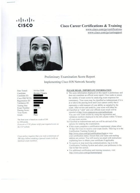 Cisco Career
