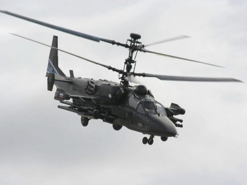Боевой вертолет Ка-52