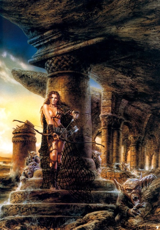 luis royo - the roofs off ear detail