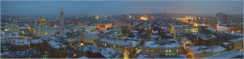 Ростов. Первый снег.