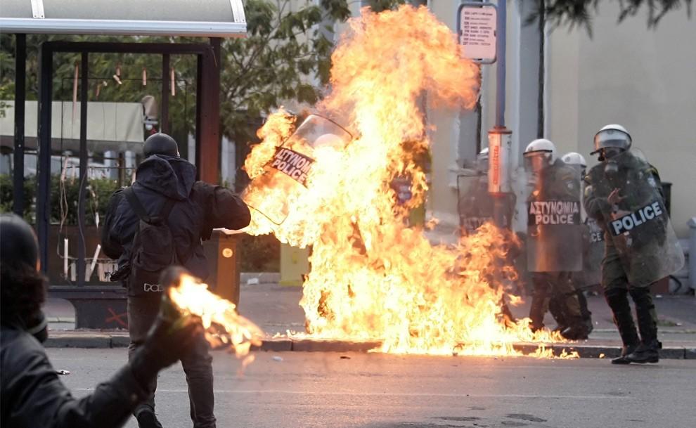 Греческий бунт 2008