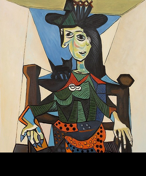 Dora Maar with Cat by Pablo Picasso