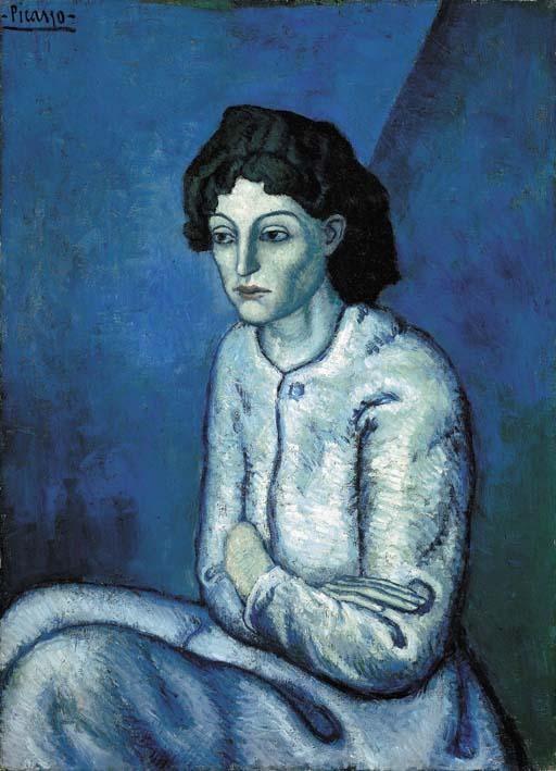 Femme aux Bras Croisés by Pablo Picasso