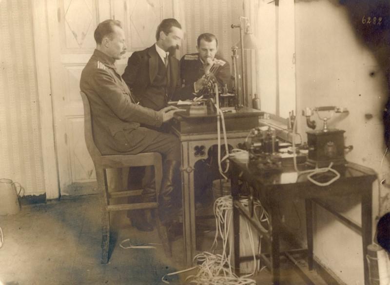 Новый телеграфный аппарат