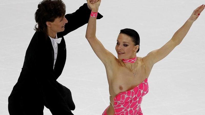 выступление танцевальной пары Екатерины Рублевой и Ивана Шефера на чемпионате Европы по фигурном катанию в Хельсинки