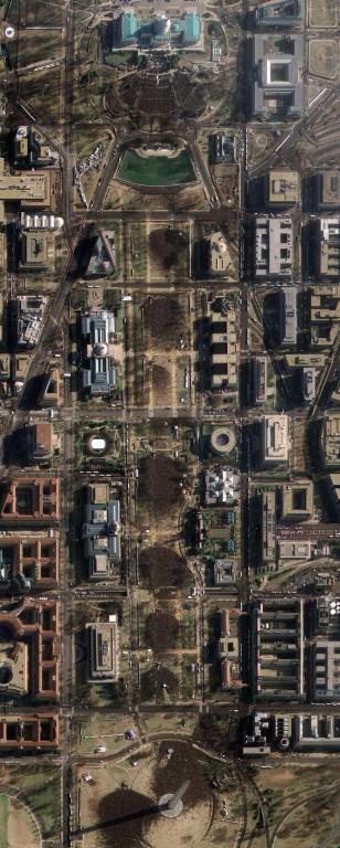 Washington D.C.'s National Mall и Капитолий Соединенных Штатов