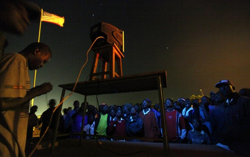 Жители Kibera