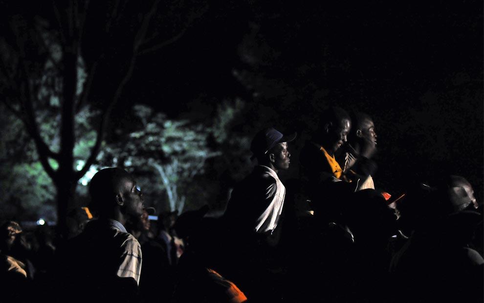 Сельские жители Nyang'oma Kogelo