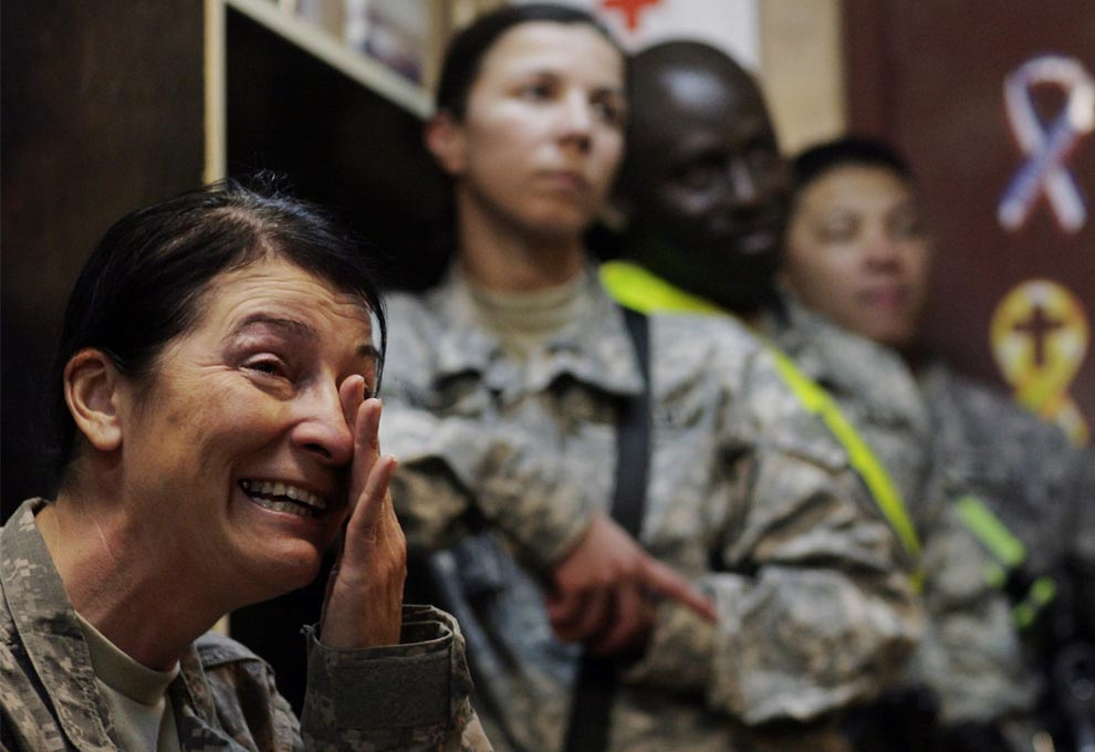 US Army Command Sgt. Maj. Julia Kelley