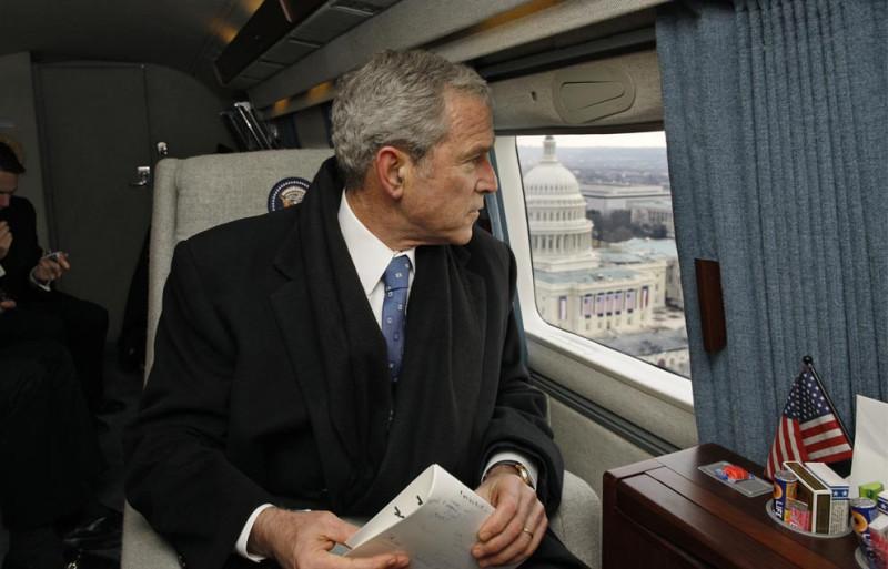 Прежний Президент Джордж У. Буш