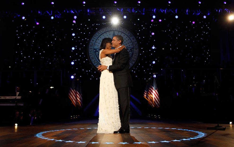 Президент Барак Обама и Первая леди Мишель Обама