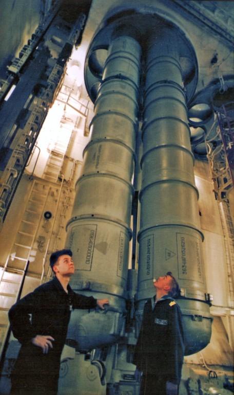 на тяжёлом атомном ракетном крейсере проекта 1144.2 Петр Великий