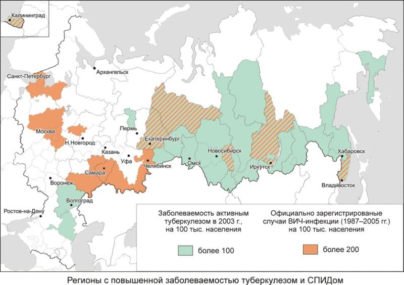 Каждый второй умерший от инфекционной болезни в России — туберкулезник