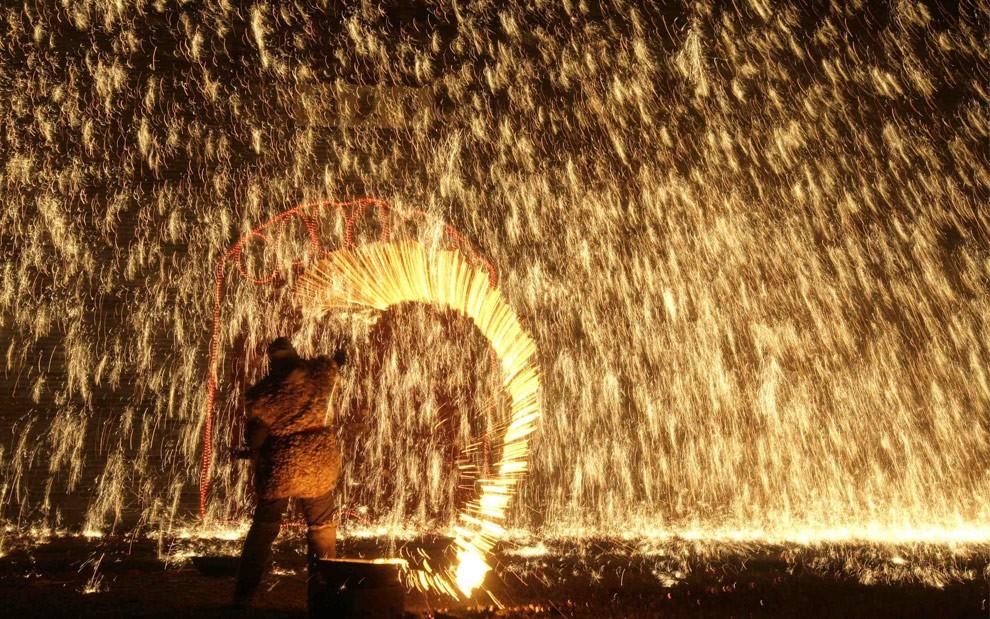Человек, на улице в Пекине