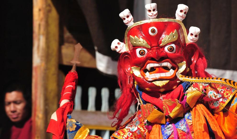 Большой Молитвенный Фестиваль Тибета