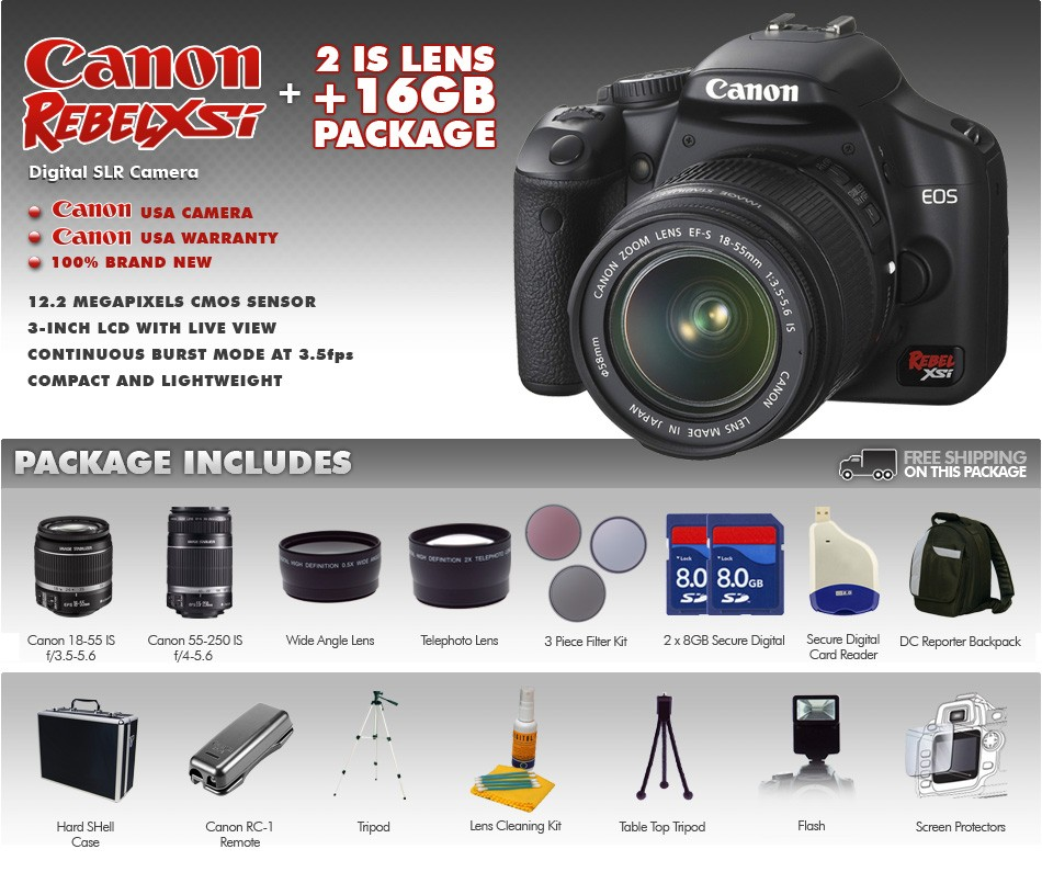 Canon Rebel XSi