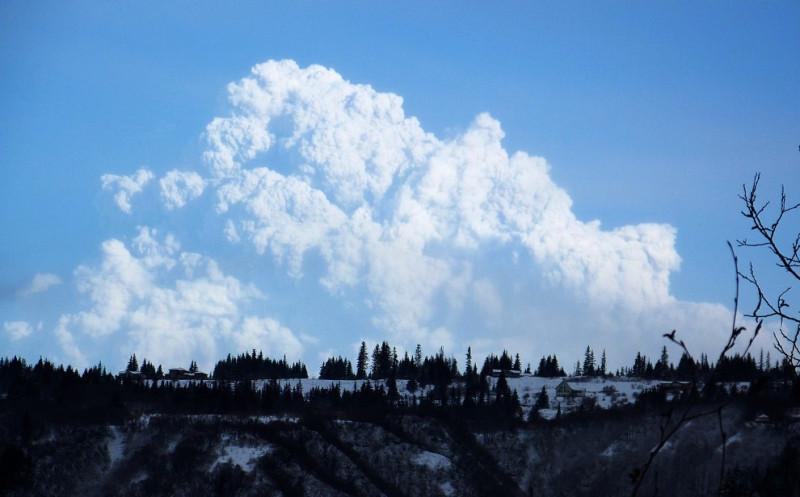 Гора Аляски Redoubt