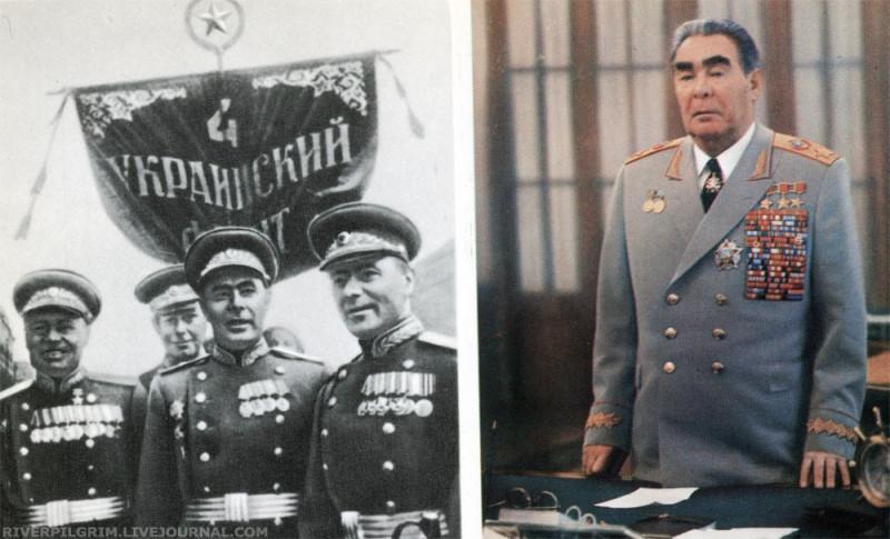 Генерал Л.И. Брежнев на Параде Победы