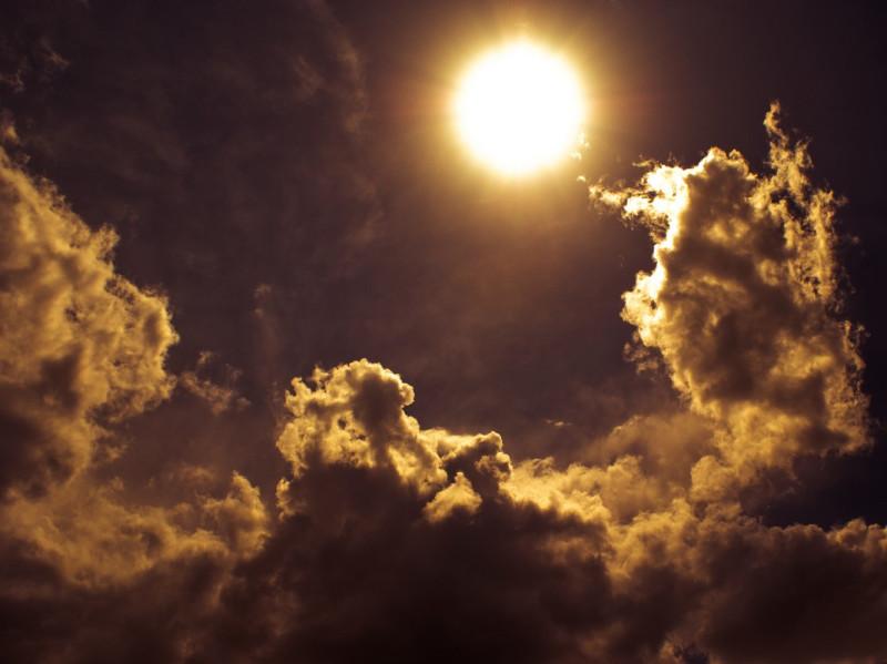 тени облаков
