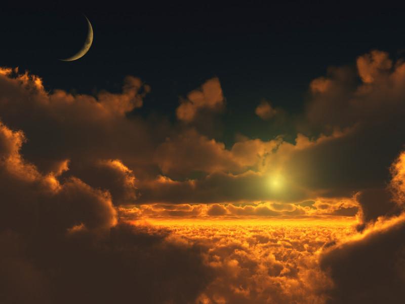облачный пейзаж