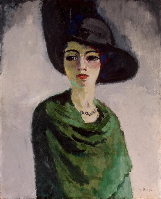Донген ван (Кес) / Дама в черной шляпе