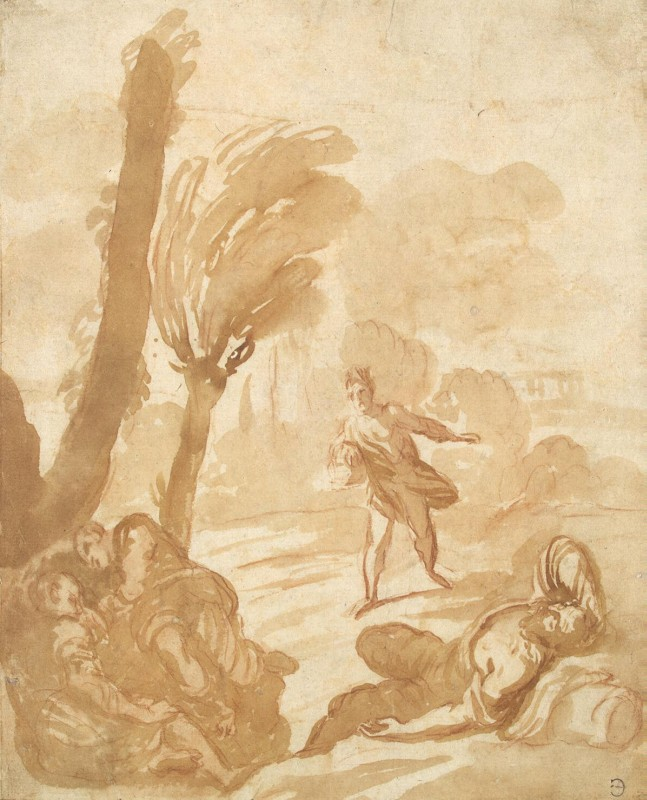 Фетти, Доменико / Satan Sowing Darnel