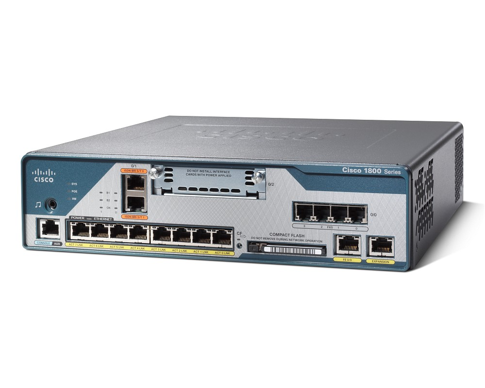 Cisco 1861 Integrated Services Router