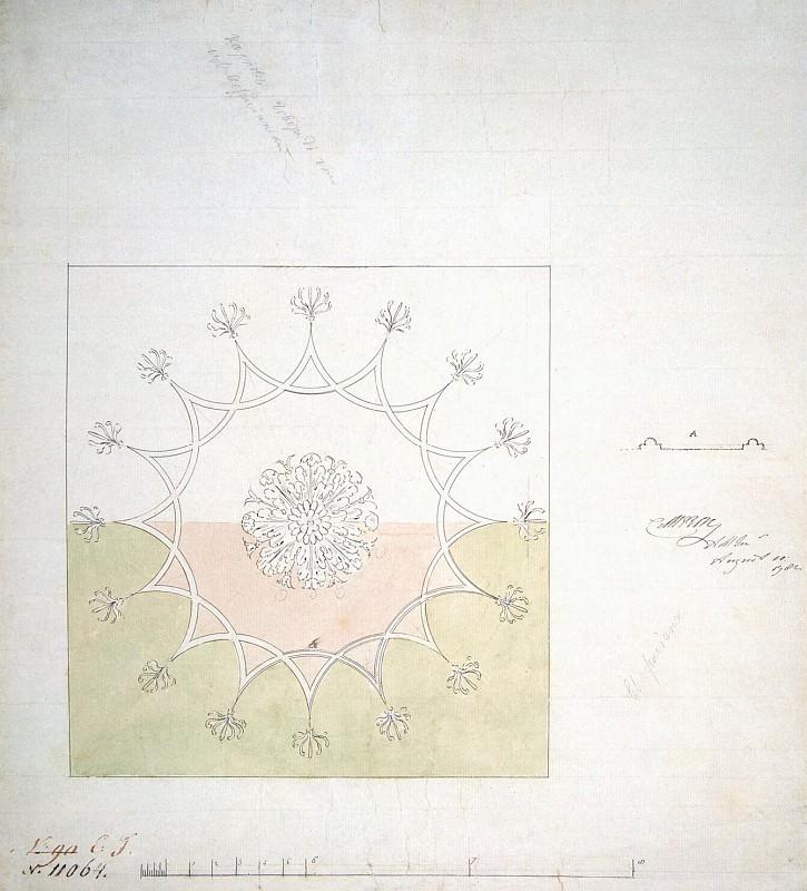 Камерон Чарлз - Проект для потолка с авторской подписью