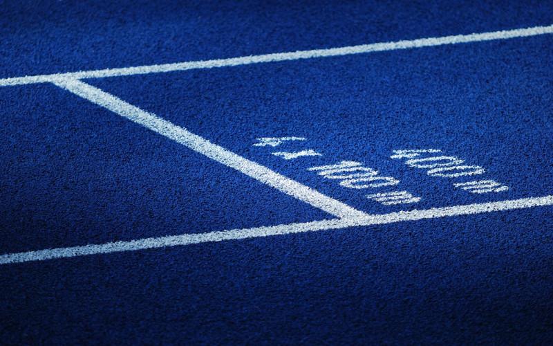 Атлетический трэк Берлинского олимпийского стадиона