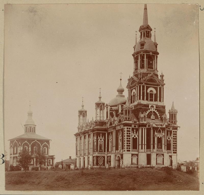 С.М. Прокудин-Горский - Московская губерния. Можайск. Николаевский собор. 1911-й г.