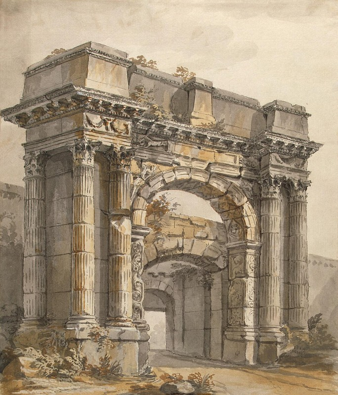 КЛЕРИССО, Шарль Луи - Триумфальная арка в Пуле