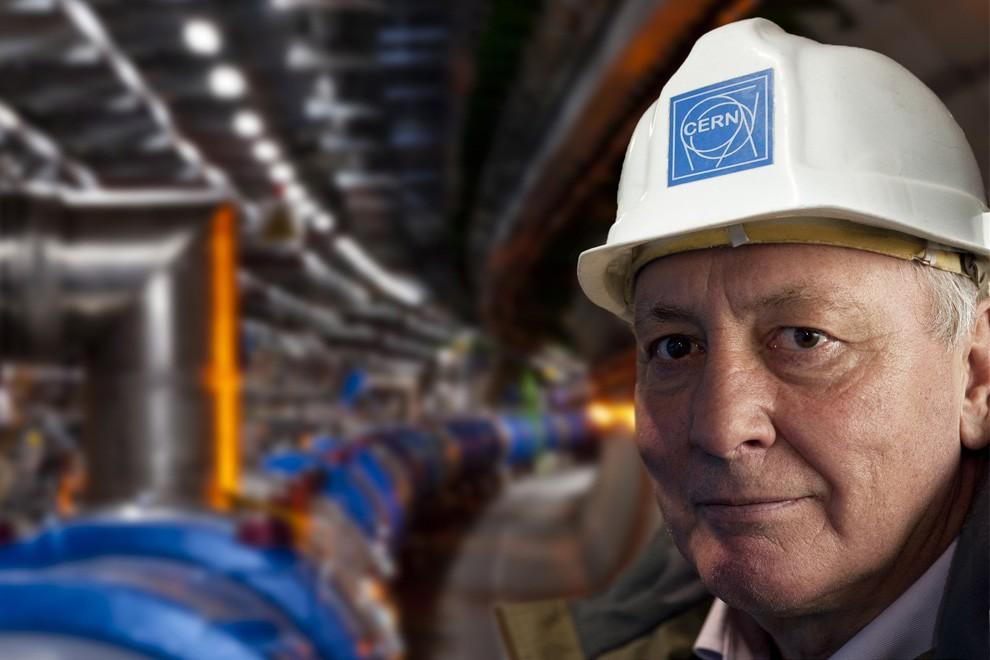 Лиин Эванс – руководитель проекта Большого адронного коллайдера – 3 декабря 2008 года