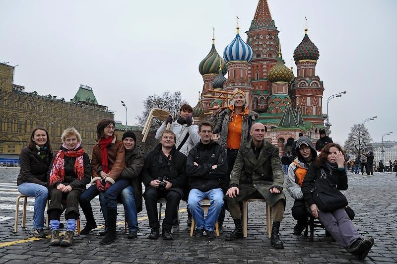 Табурет на Красной площади