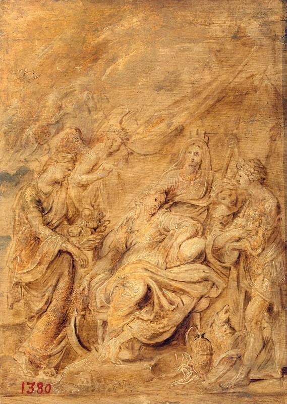 Рубенс, Питер Пауль - Birth of the Dauphin