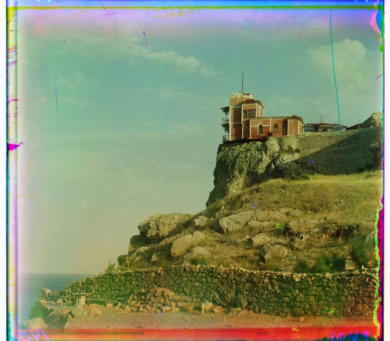 С.М. Прокудин-Горский - Таврическая губерния (Крым). Ласточкино гнездо. 1905 г.