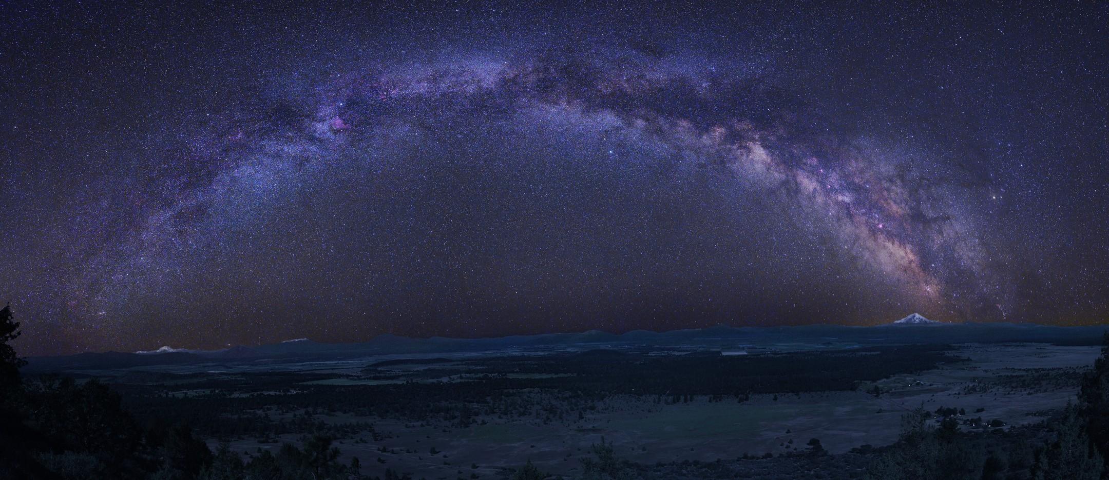 Изящная дуга Млечного пути