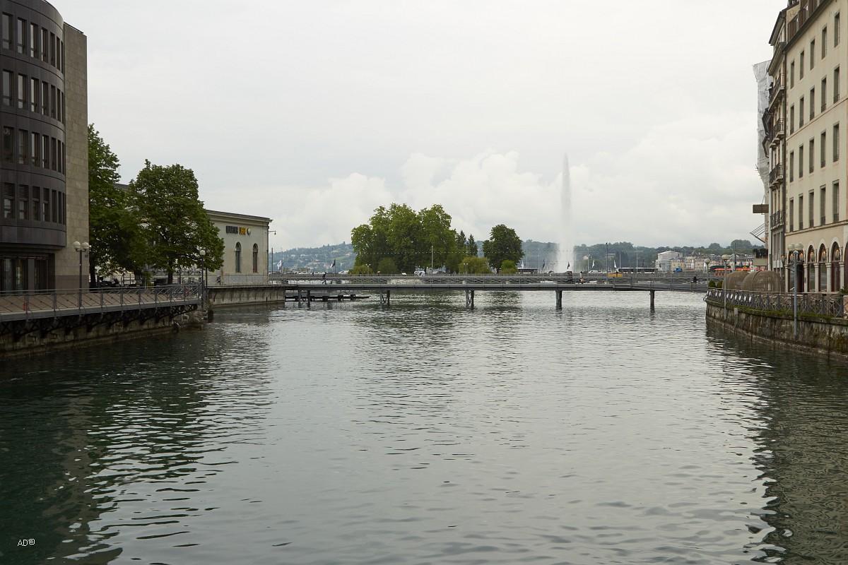 Женева - Фонтан Же-До