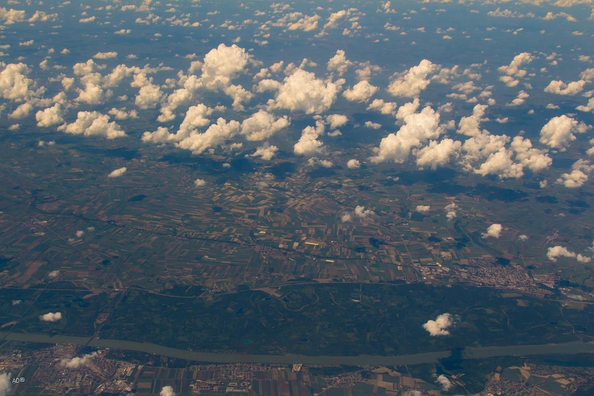 Авиаперелет Женева-Москва - 2-й час полета